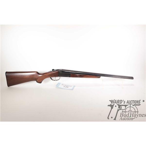 "Non-Restricted shotgun Gaucha-IGA model Coachgun, 410 Ga 3"" two shot hinge break, w/ bbl length 20"""