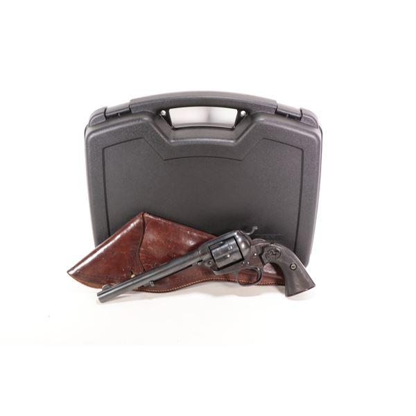 Restricted Colt model Bisley, 38 Colt 6 Shot w/ bbl length 191mm serial # 292446, certificate # K-14