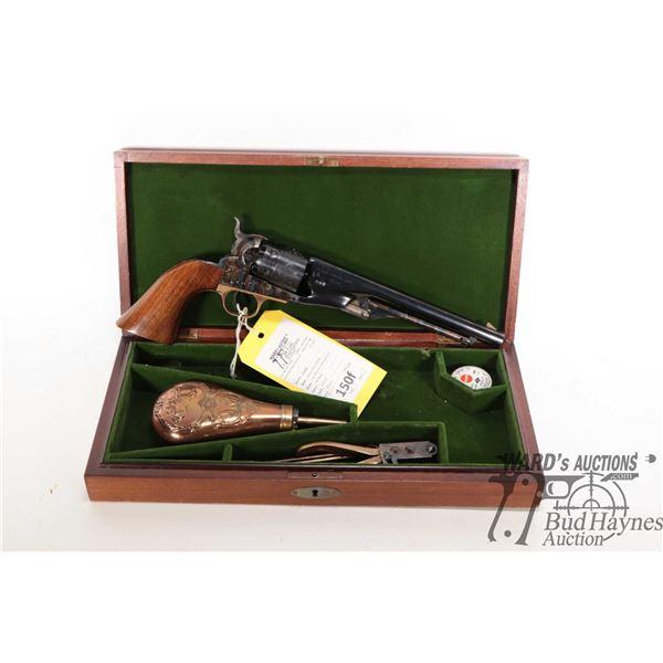 Restricted handgun Western Arms/Pietta model Colt 1860 Army Reproducti, 44 Perc. six shot single act