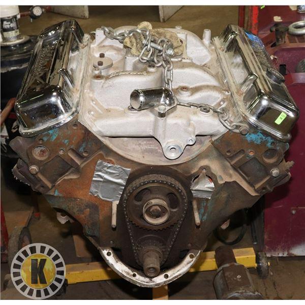 400 PONTIAC ENGINE WITH 350 TURBO TRANSMISSION