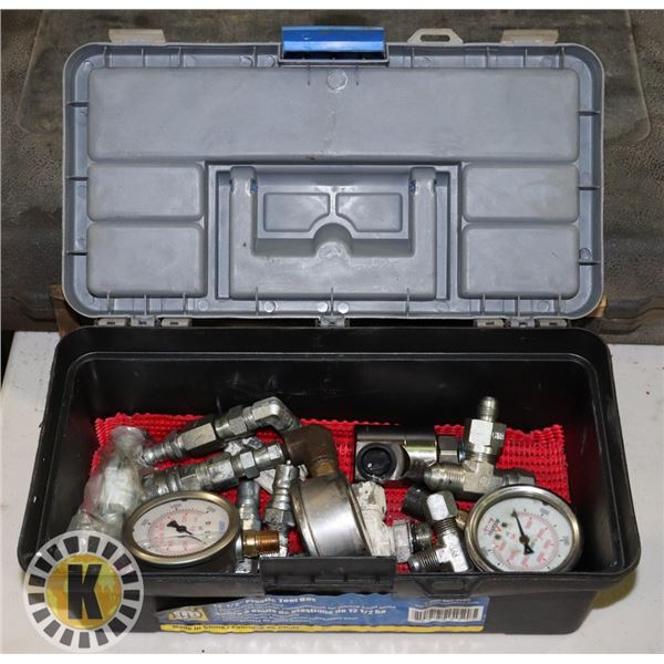 POWERFIST TOOLBOX WITH GAUGES