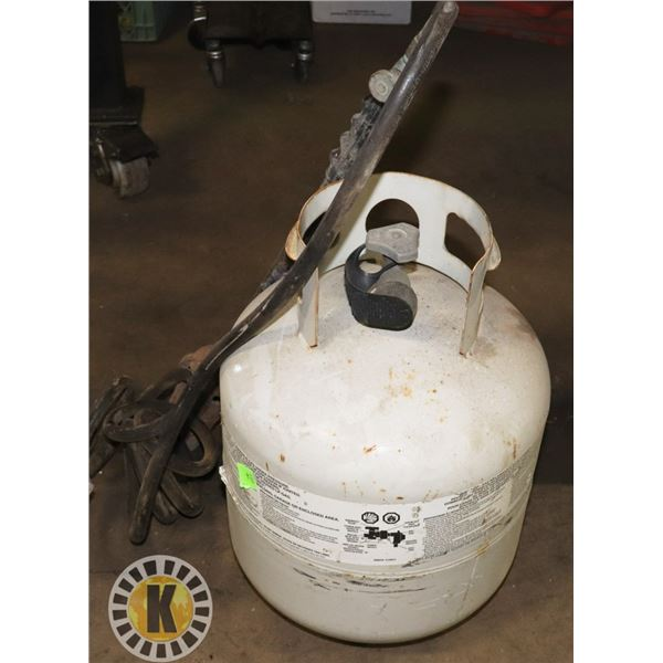 TIGER TORCH WITH PROPANE TANK