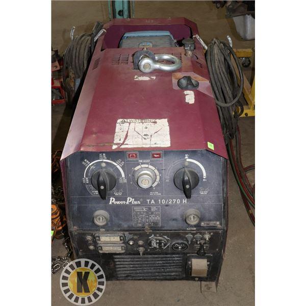 POWERPLUS HEAVY DUTY TA10/270H WELDING MACHINE