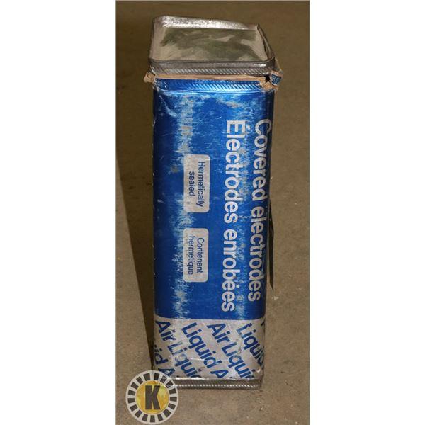 BOX OF AIR LIQUIDE WELDING ROD 2.5MM X 300MM
