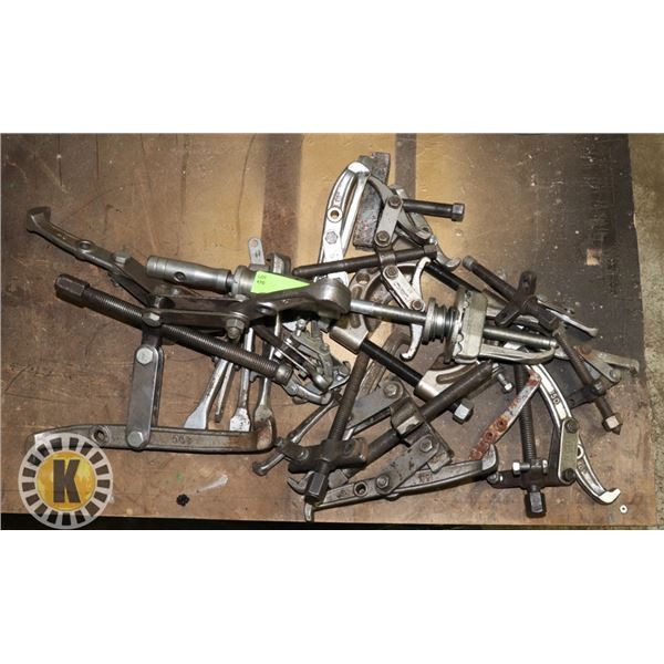 LARGE LOT OF SPECIALTY PULLERS
