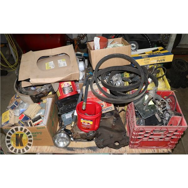 LARGE LOT OF ASSORTED AUTOMOTIVE PARTS