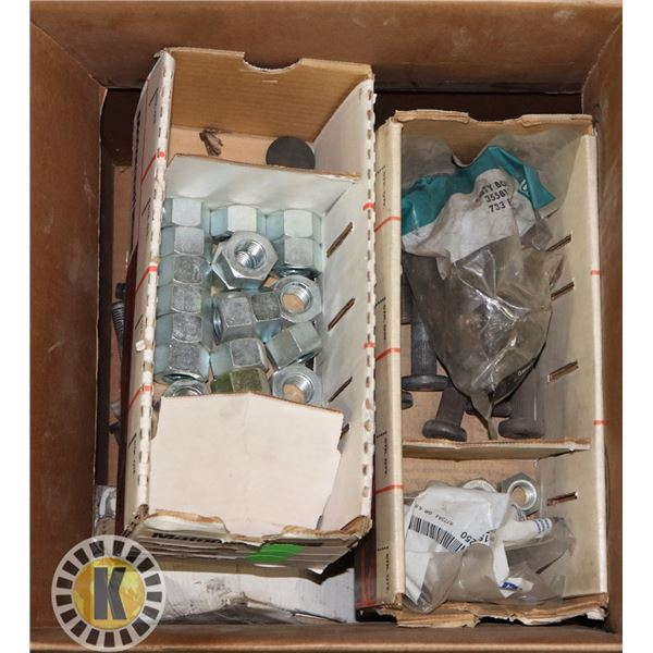 BOX OF ASSORTED HARDWARES