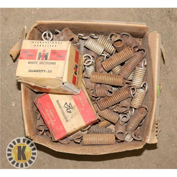 BOX OF BRAKE SPRINGS