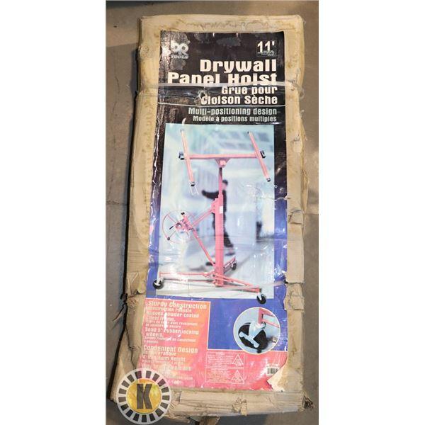 11' DRYWALL PANEL HOIST NEW IN BOX