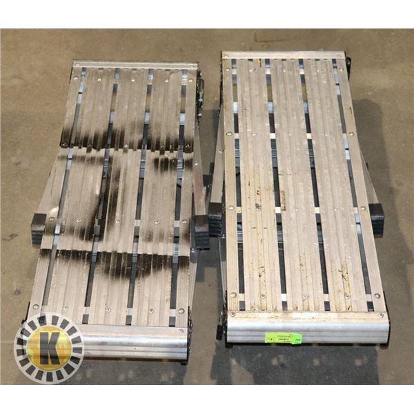 2- HIGHWORK FOLDABLE PLATFORMS