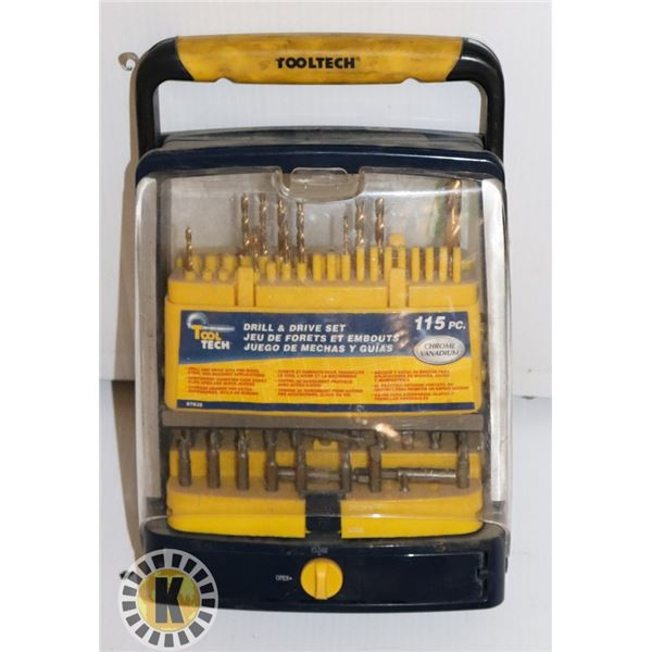 TOOLTECH DRILL AND DRIVE SET