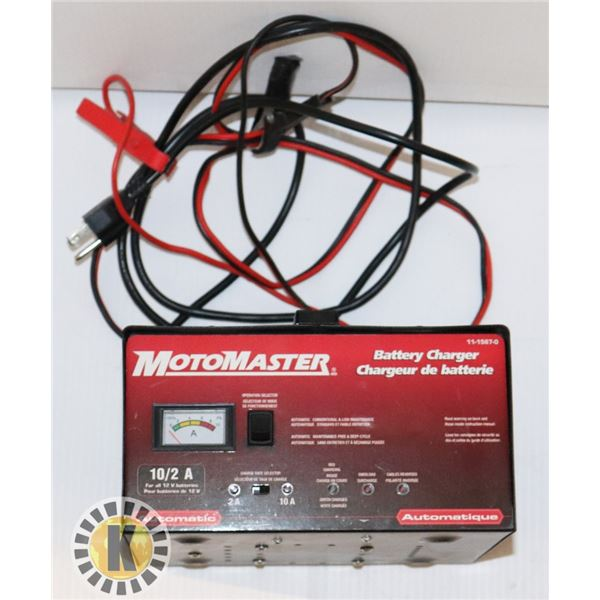 MOTOMASTER BATTERY CHARGER 1115670
