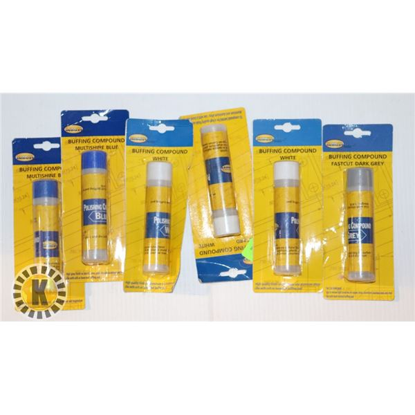 NORTHERN INDUSTRIES TOOLS BUFFING COMPOUND