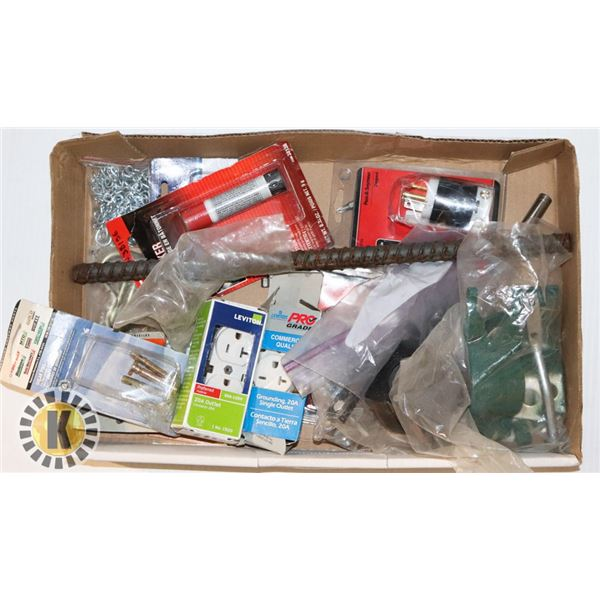 ASSORTED ELECTRICAL SUPPLIES AND MORE