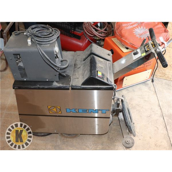 KENT FLOOR SCRUBBING MACHINE WITH CHARGER
