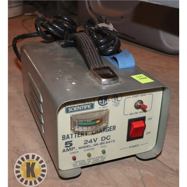 5AMP BATTERY CHARGER