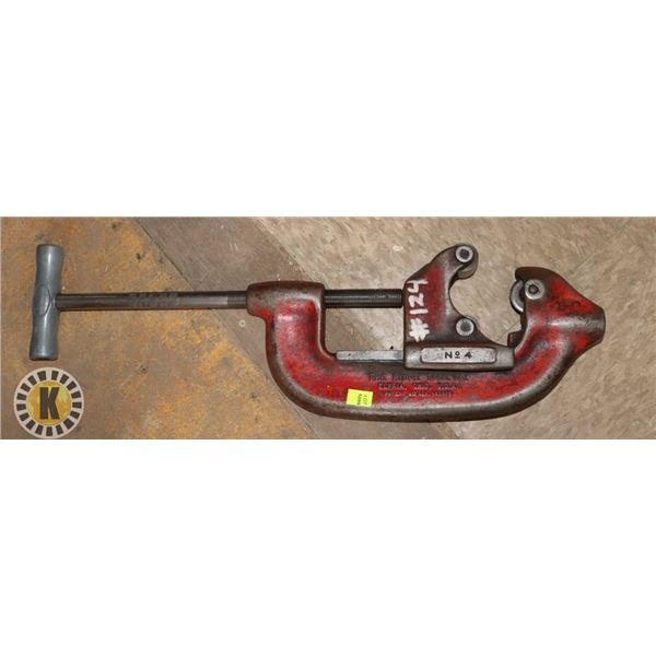 THE RIDGE TOOL CO NO 4 LARGE PIPE CUTTER