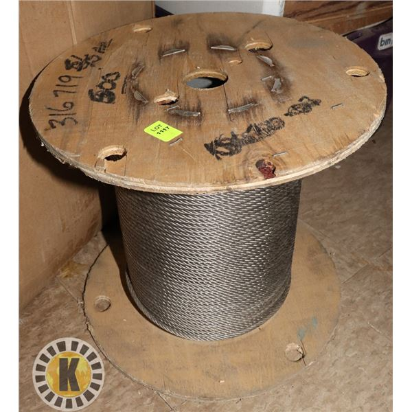 LARGE ROLL OF CABLE