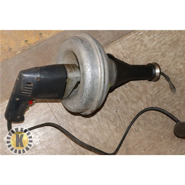 CORDED DRILL DRAIN AUGER