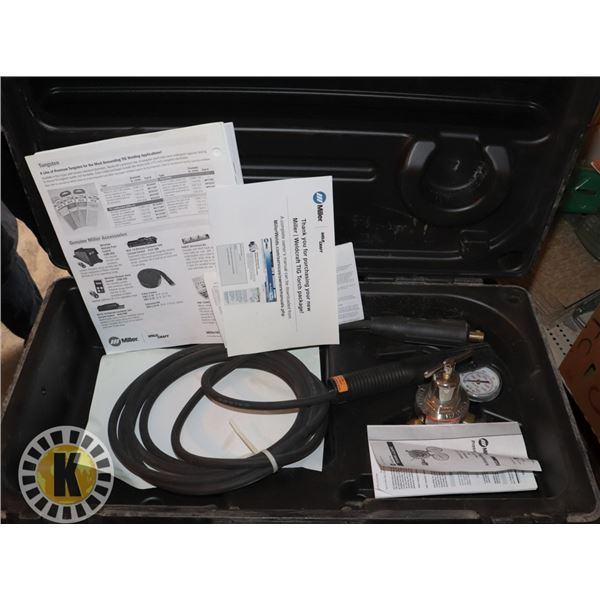 MILLER TIG WELDER PACKAGE (ONLY WHAT IS SHOWN IN