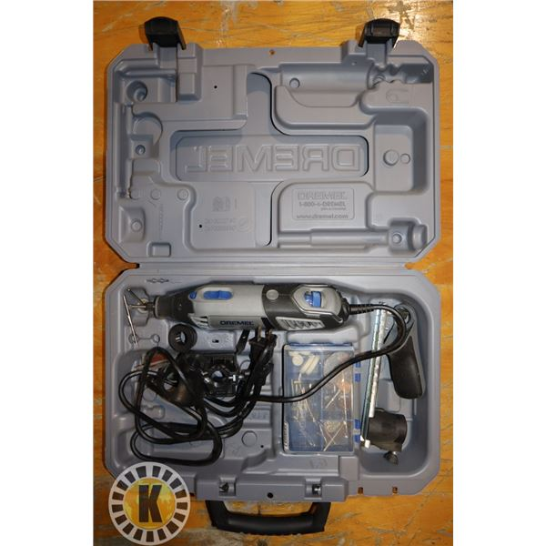 DREMEL 4000 ROTARY TOOL IN CASE WITH ACCESSORIES