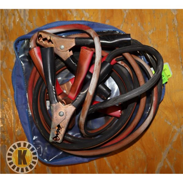 10' (8 GAUGE) BOOSTER CABLES