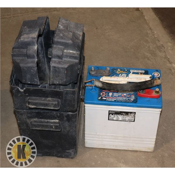 6 VOLT BATTERY SOLD WITH TWO BATTERY