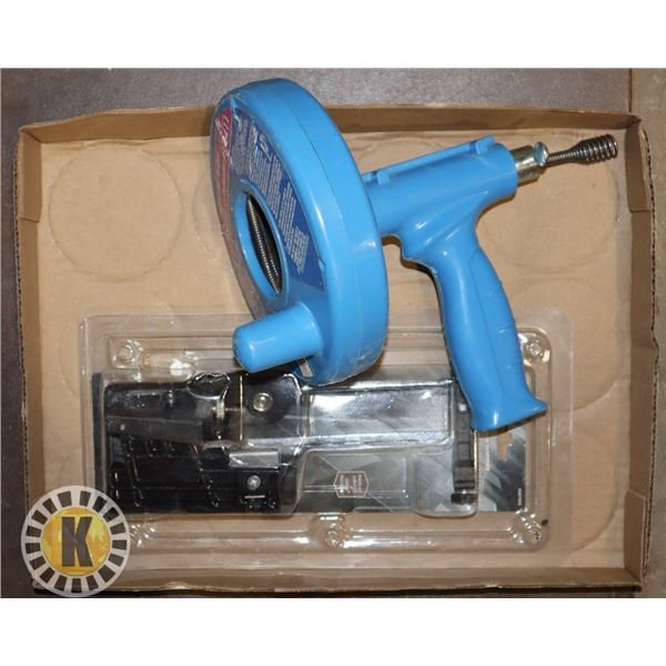 """CHAIN SAW SHARPENER SOLD WITH 1/4"""" X 25' DRAIN"""