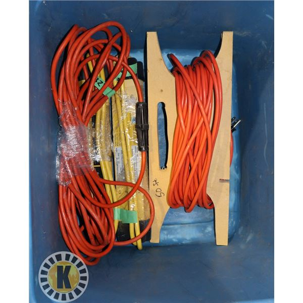 TOTE WITH TWO HEAVY DUTY POWER BARS,
