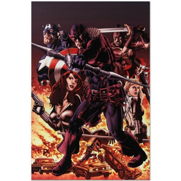 """Marvel Comics """"Hawkeye: Blind Spot #1"""" Numbered Limited Edition Giclee on Canvas by Mike Perkins wit"""