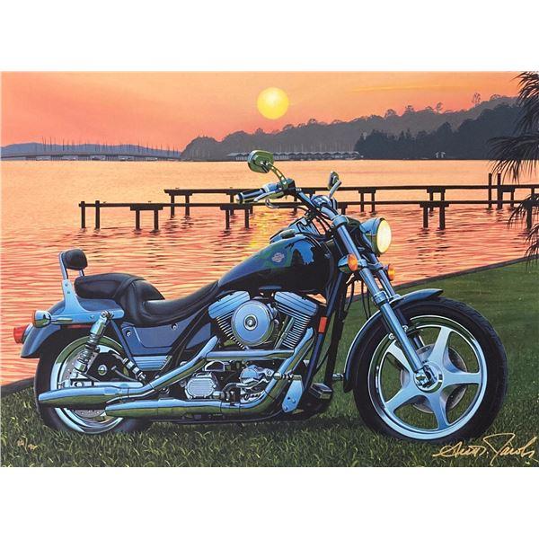 "Scott Jacobs- Original Giclee on Canvas ""PJs View"""