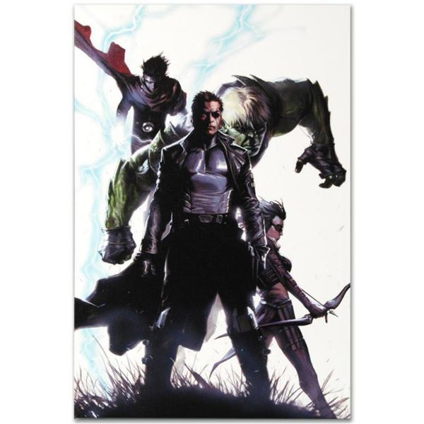 """Marvel Comics """"Secret Invasion #4"""" Numbered Limited Edition Giclee on Canvas by Gabriele Dell'Otto w"""