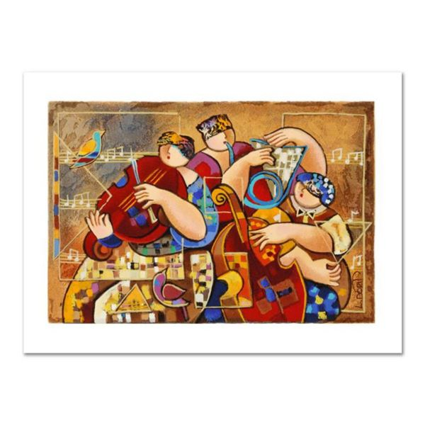 """Dorit Levi, """"Trio Chorus"""" Limited Edition Serigraph, Numbered and Hand Signed with Certificate of Au"""