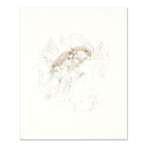 """Edna Hibel (1917-2014), """"Roberta and Roberto"""" Limited Edition Lithograph with Remarque, Numbered and"""