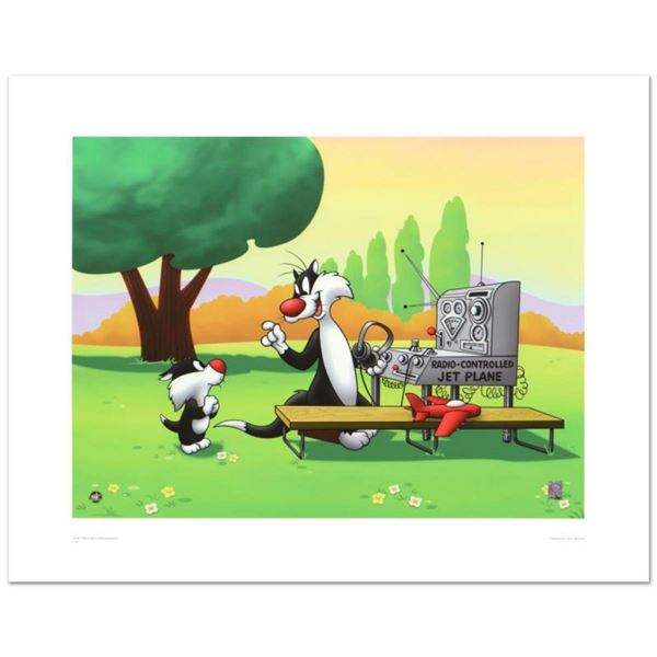 """""""Sylvester & Son, Radio Controlled Jet"""" Limited Edition Giclee from Warner Bros., Numbered with Holo"""