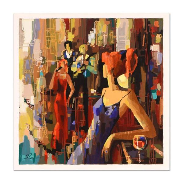 """Nelly Panto, """"Waiting for You"""" Limited Edition Serigraph, Numbered and Hand Signed with Certificate"""