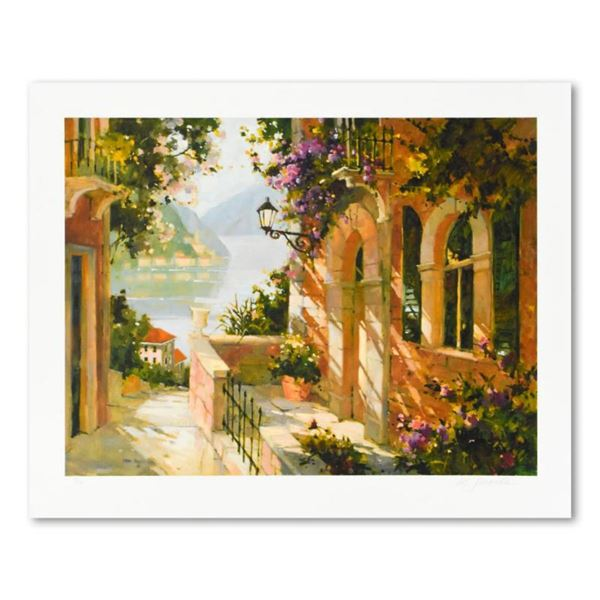 """Marilyn Simandle, """"Como Cottage"""" Limited Edition, Numbered and Hand Signed with Letter of Authentici"""