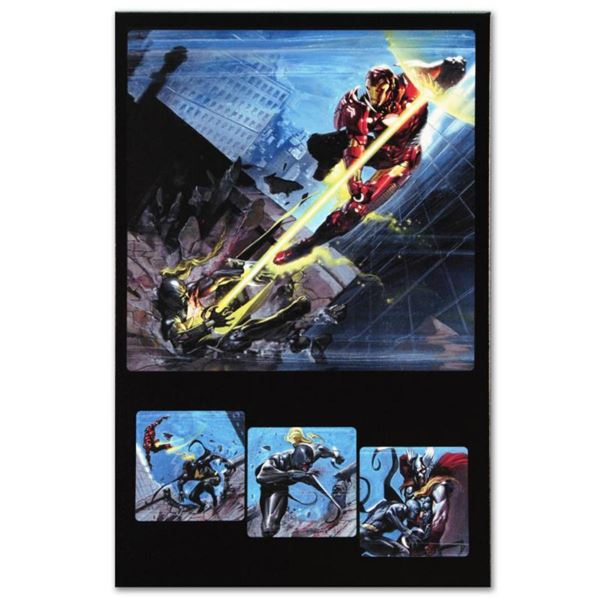 """Marvel Comics """"Secret War #1"""" Numbered Limited Edition Giclee on Canvas by Gabriele Dell'Otto with C"""