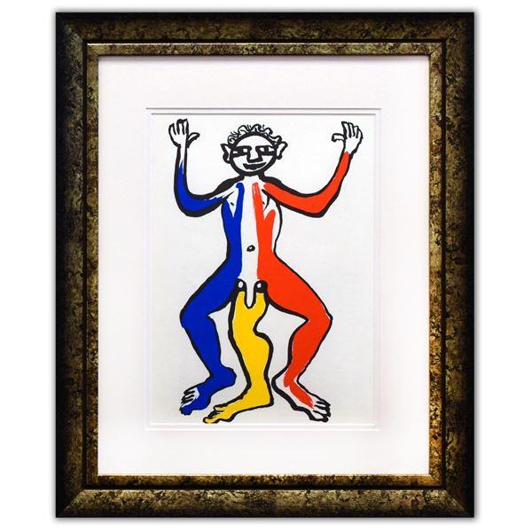 "Alexander Calder- Lithograph ""DLM212 - Un patriote"""