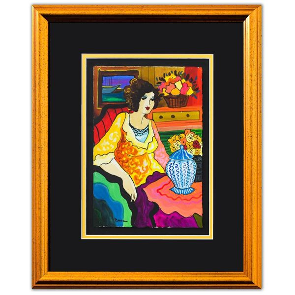 "Patricia Govezensky- Original Watercolor ""Gemma"""