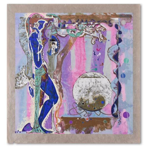 """Lu Hong, """"Concerto"""" Limited Edition Serigraph on Rice Paper, Numbered and Hand Signed with Letter of"""