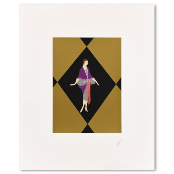 """Erte (1892-1990), """"Manhattan Mary III"""" Limited Edition Serigraph, Numbered 297/300 and Hand Signed w"""