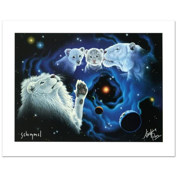 """""""A Mother's Kiss, A Father's Touch"""" Limited Edition Giclee by William Schimmel, Numbered and Hand Si"""