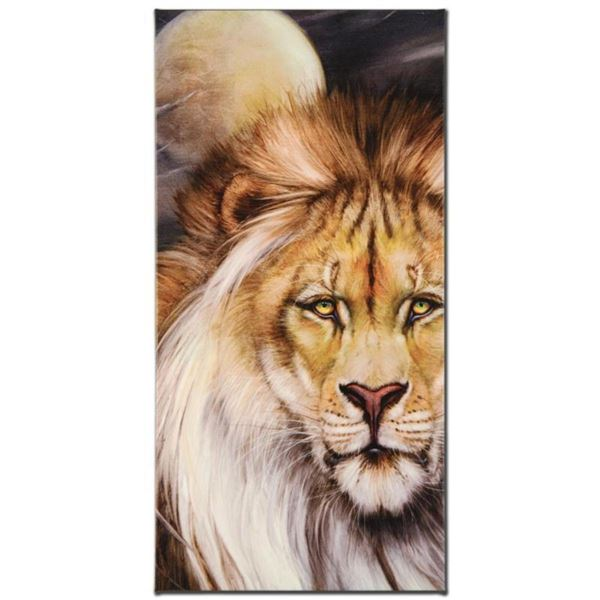 """""""Leo Moon"""" Limited Edition Giclee on Canvas by Martin Katon, Numbered and Hand Signed. This piece co"""
