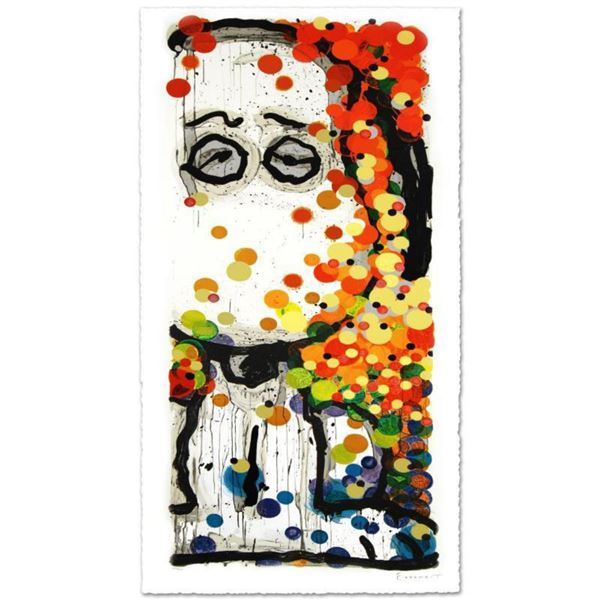 """""""Beauty Sleep"""" Limited Edition Hand Pulled Original Lithograph (20.5"""" x 54"""") by Renowned Charles Sch"""