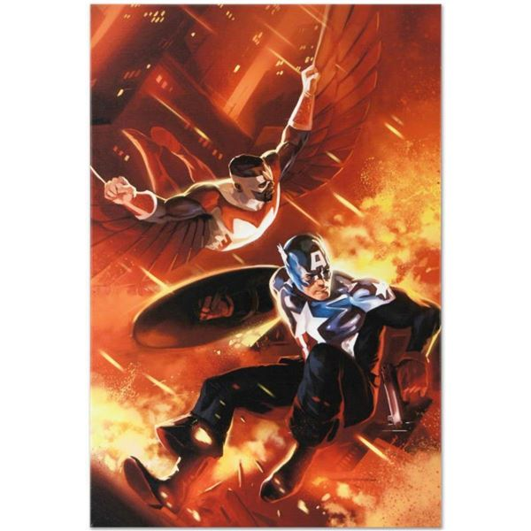 """Marvel Comics """"Captain America #607"""" Numbered Limited Edition Giclee on Canvas by Mitchell Breitweis"""