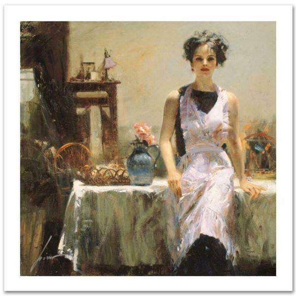 """Pino (1939-2010) """"Evening Thoughts"""" Limited Edition Giclee. Numbered and Hand Signed; Certificate of"""