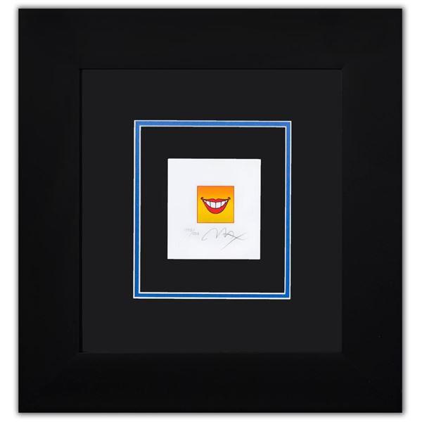 "Peter Max- Original Lithograph ""SMILE"""