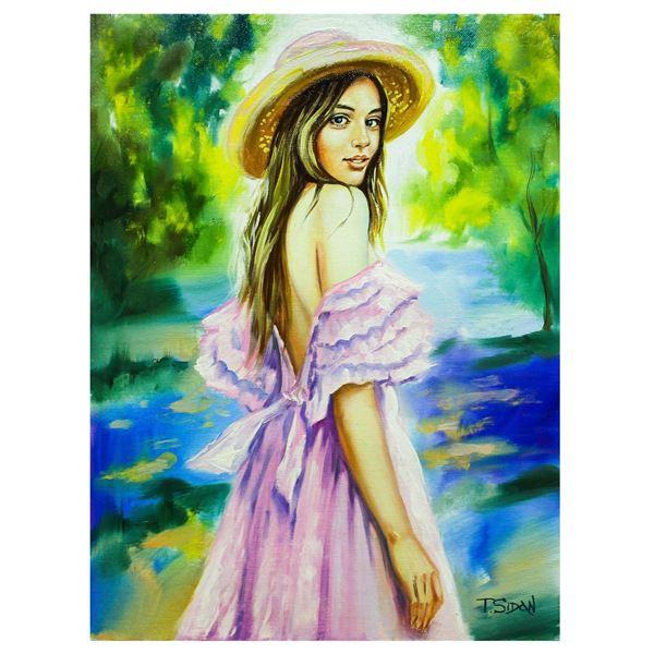 "Taras Sidan- Original Oil on Canvas ""Teresa"""