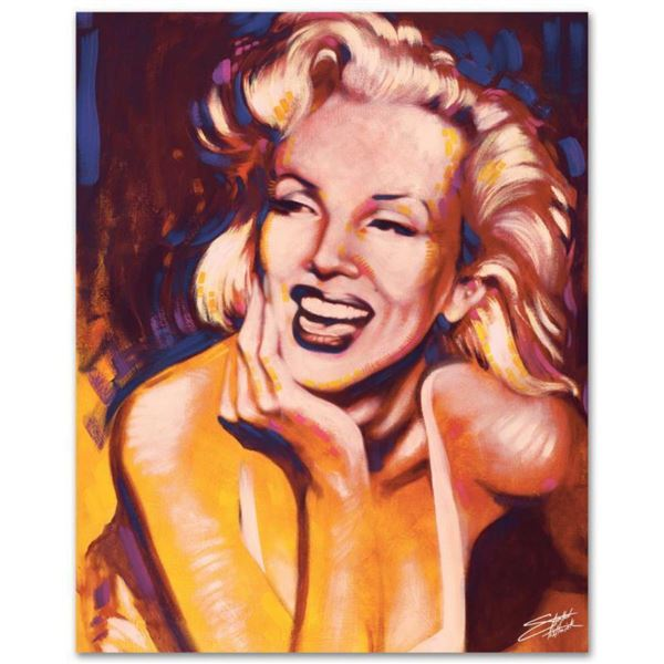 """""""Fun, Marilyn"""" Limited Edition Giclee on Canvas by Stephen Fishwick, Numbered and Signed. This piece"""